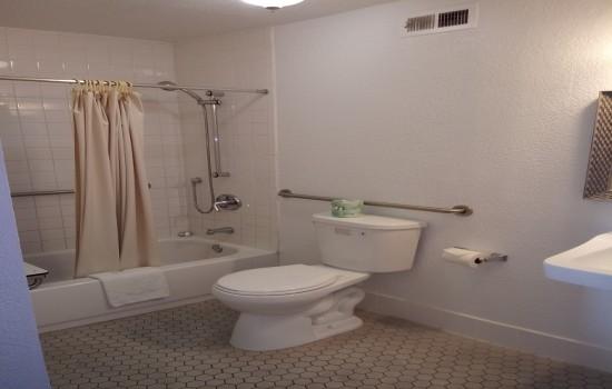 Accessible Private Bathroom